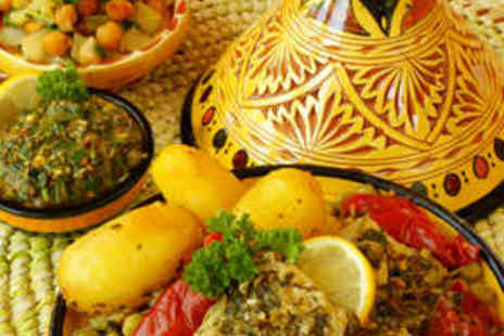Moreno's Moroccan Restaurant - Starter, Main Course, and Side Dish for Two - Save 65%