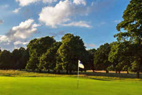 Hampton Court Palace Golf Club - 18 Holes of Golf for Two People with Refreshments - Save 69%