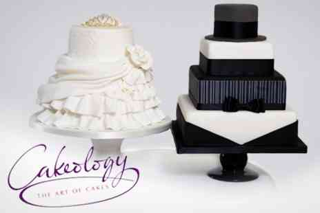 Cakeology - Wedding Cake Consultation and Tasting Session For Up to Four - Save 60%