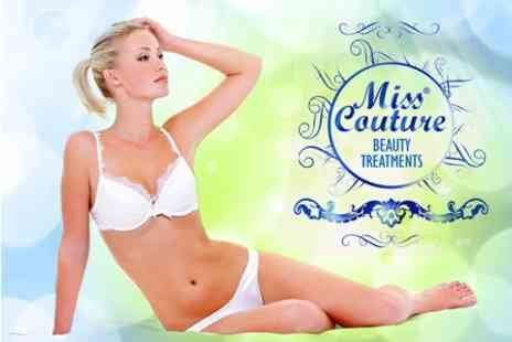 Miss Couture Beauty and Laser Clinic - Laser Hair Removal Six Sessions on Choice of Areas For One - Save 87%
