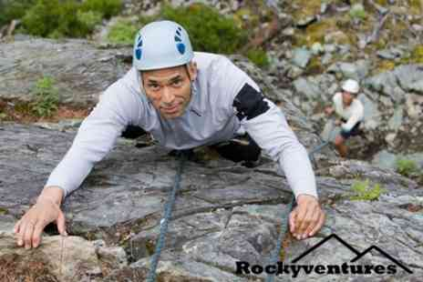 Rockyventures - Four Hour Climbing and Abseiling Session For One - Save 76%