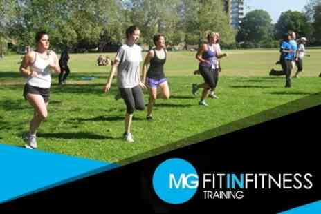 MG Fit in Fitness - Six Boot Camp Sessions in Shoreditch Park or London Fields - Save 68%
