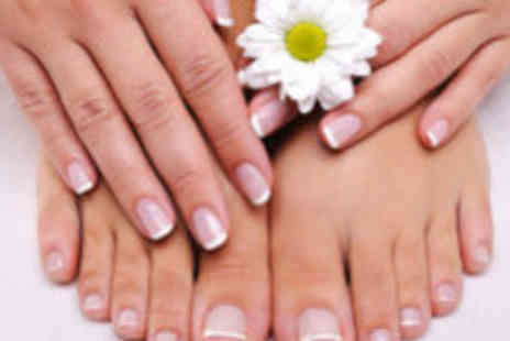 La Bella Vita - Manicure and pedicure - Save 82%