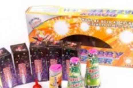 Bobby Dazzler - Fireworks Bundle with 14 Fireworks - Save 67%