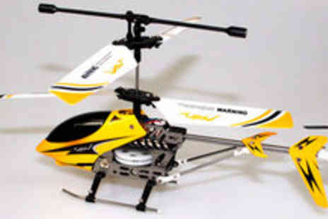 MyMemory.com - Remote Controlled Helicopter Gyro Lite - Save 50%