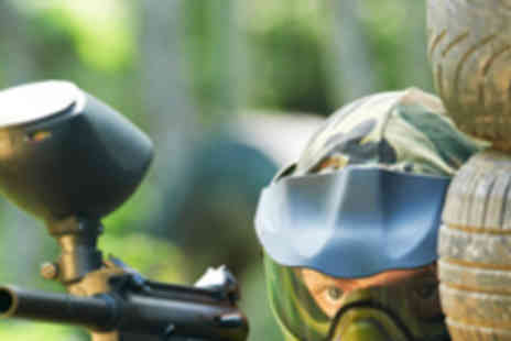 Frontline Paintball - Full Day of Paintballing with 200 Paintballs - Save 74%