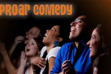 Riproar Comedy - Comedy Night With Meal For One - Save 63%