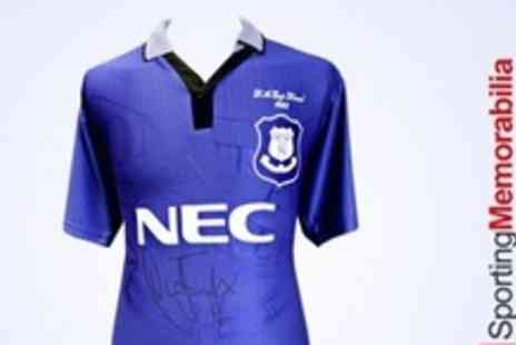 A1 Sporting Memorabilia - Everton 1995 FA Cup Winners Shirt Signed By Duncan Ferguson - Save 60%