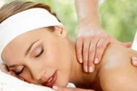 Duo Beauty - Back Neck and Shoulder Thermal Stone Massage - Save 64%