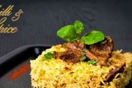 The Horseshoe - Three Course Indian Fusion Meal For Two - Save 62%