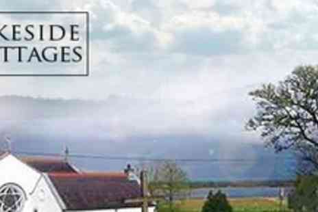 Lakeside Cottages - Three Night Luxury Cottage Break for Up to Eight People With Wine - Save 54%
