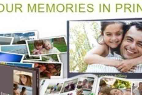 PhotoBox - 100 Page Personalised A4 PhotoBook - Save 70%