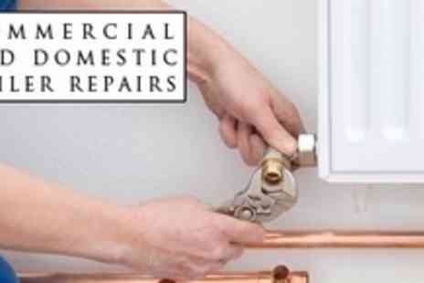 Commercial and Domestic Boiler Repairs - Central Heating Power Flush For Up To Eight Radiators - Save 63%