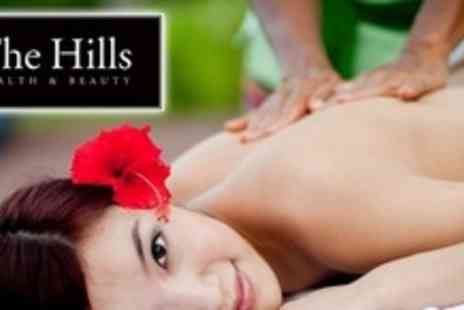 The Hills Health and Beauty - Deep Tissue Back, Neck and Shoulder Massage Plus Facial - Save 60%