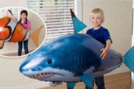 Boobar Bashalot - Flying fish or flying shark toy  - Save 60%