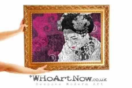 WhoArtNow.co.uk - £7 for a £40 Voucher to Spend on Canvas Prints and Art at whoartnow.co.uk - Save 83%