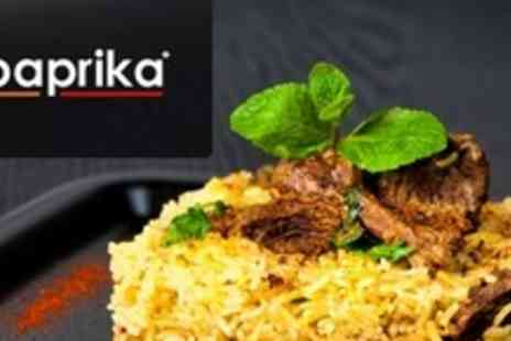 Paprika - Two Course Indian and Bangladeshi Meal With Two - Save 74%