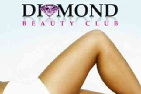 Diamond Beauty Club - Three Lipo Laser Sessions  - Save 78%