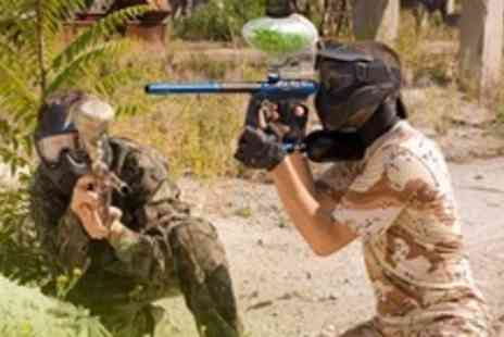 The Dangerzone - Paintballing For Up to Ten People With Lunch - Save 92%
