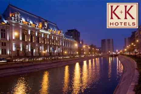 K+K Hotel Elisabeta - Short Break in Bucharest in an Executive Room with Breakfast & Bubbly for Three Nights - Save 73%