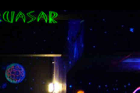 Quasar Sheffield - Two Games of Quasar for Four People - Save 58%