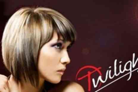 Twilight Salon - Half Head of Highlights, Cut, Wash and Blow Dry - Save 64%
