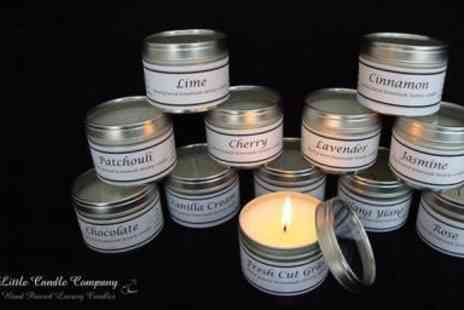 The Little Candle Company - Choice of four scented candles - Save 50%