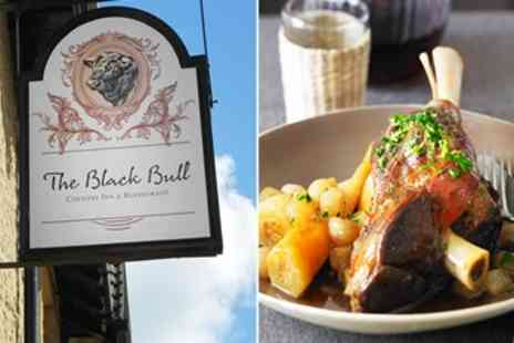 The Black Bull - 3 Course Dinner for 2 - Save 49%