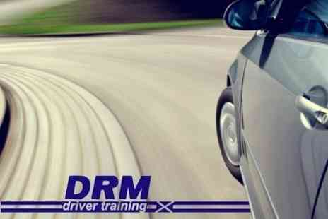 DRM Driver Training - Three 60 Minute Driving Lessons - Save 60%
