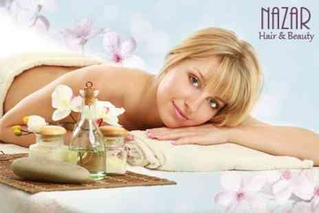 Nazar Hair and Beauty - Three Beauty Treatments Such as Massage, Facial and Manicure - Save 70%