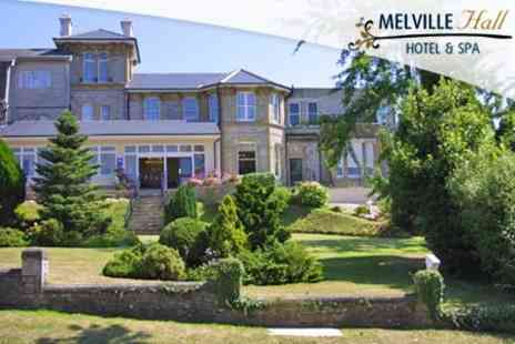 Melville Hall Hotel - One Night Stay For Two With Dinner and Spa Treatment - Save 65%