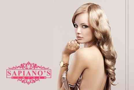 Sapianos - Full Head Highlights or Colour With Cut, Conditioning Treatment and Blow Dry - Save 28%
