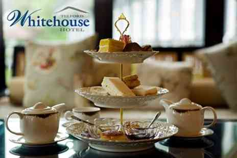 Telford Whitehouse Hotel - Afternoon Tea With Access to Spa Facilities For Two - Save 61%