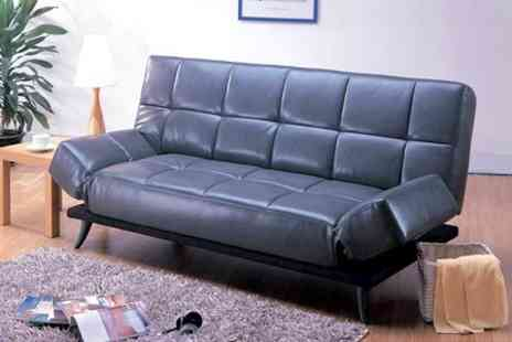 World of Sofa Beds - New York Sofa Bed in Black or Brown - Save 50%