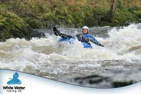 White Water Tubing UK - Rafting Experience For One - Save 59%