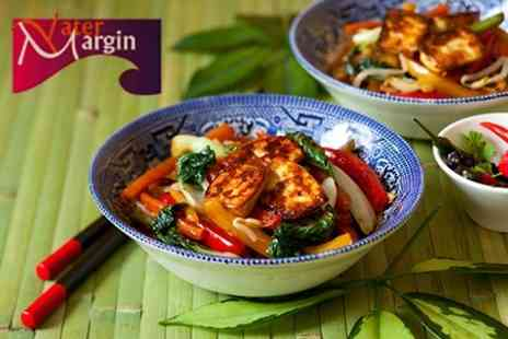 The Water Margin - Two Course Chinese Meal With Rice or Noodles For Two - Save 61%