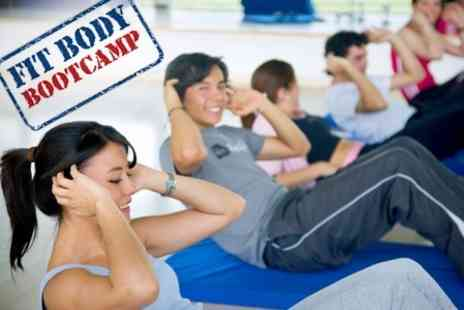 Fit Body Bootcamp - Indoor Boot Camp Four Weeks For One Person - Save 76%