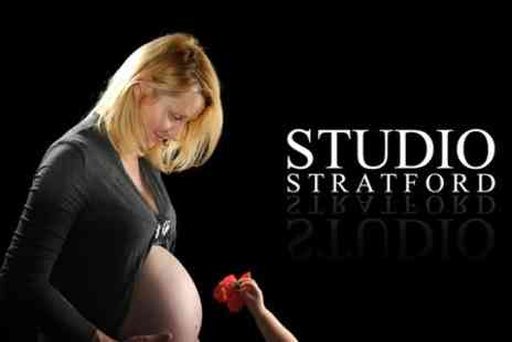 Studio Stratford - Photoshoot Newborn With Eight Prints - Save 96%