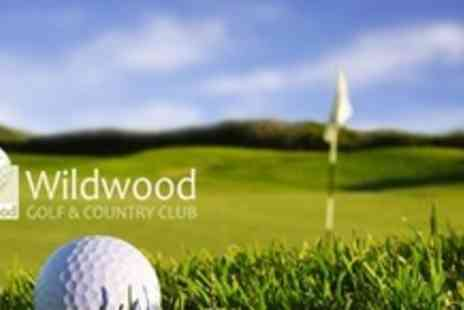 Wildwood Golf & Country Club - Full Day of Golf For Four With Bacon Roll and Coffee - Save 82%