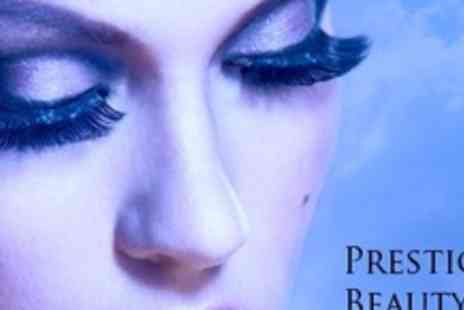 Prestige Bridal Hair & Beauty - Full Set of Hollywood Natural Look or Glamour Look - Save 70%