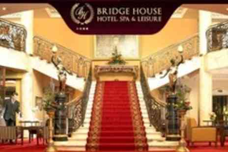 Bridge House Hotel - Two Night Stay For Two With Prosecco, Three Course Meal - Save 58%