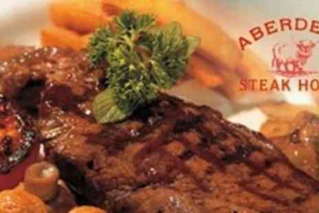 Aberdeen Steak House - Two Course Steak Dinner For Two - Save 54%