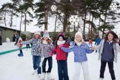 The Christmas Adventure - Outdoor Ice Skating For Four - Save 61%