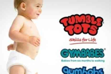 Tumble Tots - Two Gymbabes, Tumble Tots or Gymbobs Classes - Save 60%
