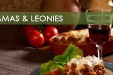 Mamas & Leonies - Two Course Italian Meal For Two - Save 60%