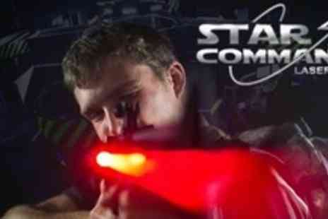 Star Command - Laser Tag Game For Ten People - Save 76%