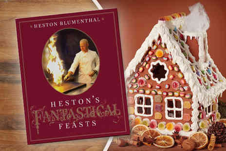 Bloomsbury Publishing - Hestons Fantastical Feasts cookbook - Save 56%