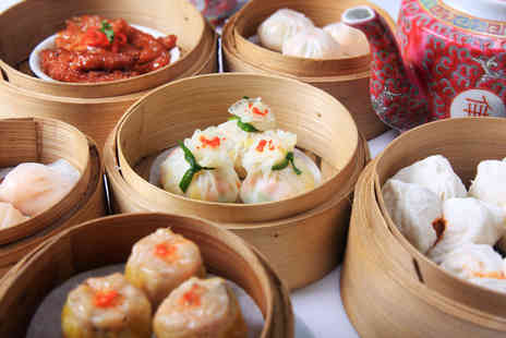 Dumplings Legend - Dim sum for 2 plus cocktail each - Save 51%