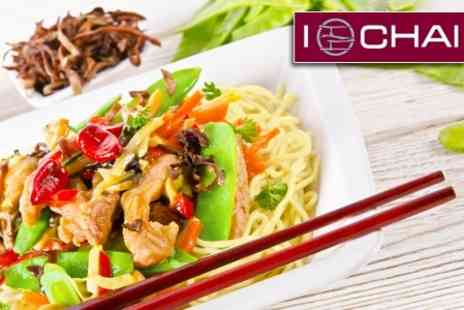 Ichai - Chinese Meal For Two - Save 66%