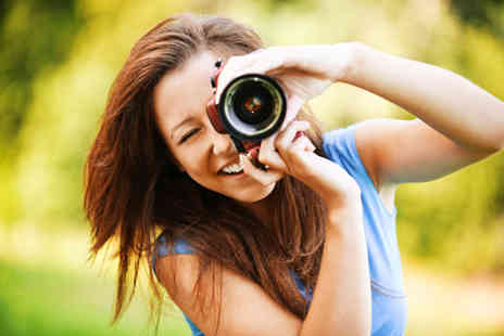 Jpegg Photography - 4 hour digital photography lesson - Save 85%